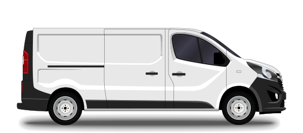 medium same day courier van