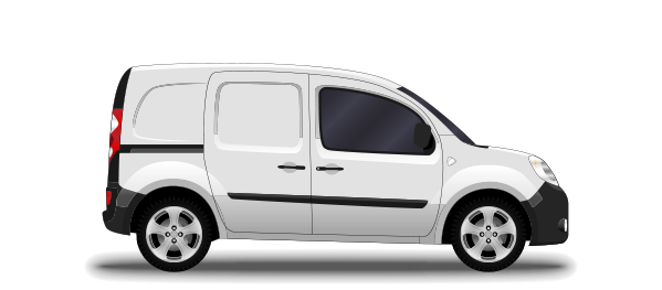 small same day courier van